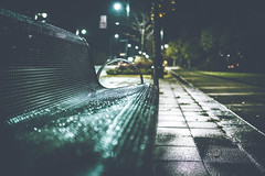 44/52 - Weather Resistance (Mark Somerville.) Tags: night fuji xt2 23 14 somerville bench hamillton bokeh first ontario weekly 4452