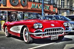 Corvette (Ronnie marshall) Tags: corvette photoshop photomatix oldcar carshow nikond7100 nikon nikkor car vehicle transportation