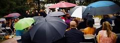 We forgot the umbrella (romeos115) Tags: wedding umbrellas raining vows autumn fall outside humorous rain marriage