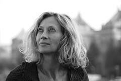 Budapest, Christine (Philippe Maraud) Tags: budapest christine hongrie pontdelaliberté portrait blackwhite bw famille noirblanc artisticportraits retratos