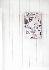 "Fabric panel ""Tokinotabi"" (mayakonakamura) Tags: mayakonakamura mayako nakamura contemporaryart tokyo suitevoice jazz music umbrella rain semiabstract gallerymirume mayakonakamurasoloshow soloshow rainmusicyoui invitationcard rainandmusicyouandi textile scarf sample commissionedwork oil arches paper tie 20thanniversarylive jzbrat shibuya"