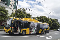 Vixtoria Street - Wellington (andrewsurgenor) Tags: wellingtontrolleybuses trolleybuses trolleybus transit trackless trolleycoach trolebús trolejbusowy trolejbus trolle troleybus nzbus gowellington filobus obus
