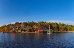 Autumn. Island life. Hvaler. Norway.