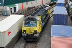 70010 Maritime 20.10.19 (Sarum33) Tags: southampton maritime 70010 class70