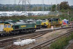 66512 66585 70005 Maritime 20.10.19 (Sarum33) Tags: southampton maritime 66512 66585 70005 class66 class70
