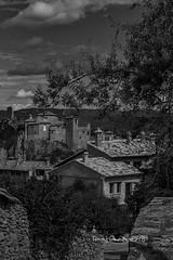 Alquezar (tonygimenez) Tags: pueblo pueblosbonitos monasterio iglesia zuico olympus huesca aragón bn alquezar