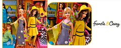 CHECK THIS -1967 (ModBarbieLover) Tags: francie casey doll 1967 mattel mod vintage yellow black dance dress groovy toy