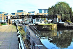 Brentford Lock On The Grand Union Canal - London. (Jim Linwood) Tags: canal brentford london brent england