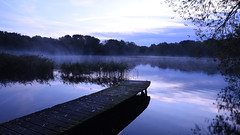 Misty Morning - 4, Dinton Pastures (rq uk) Tags: rquk nikon d750 jetty misty dawn dintonpastures blue nikond750 afsnikkor1835mmf3545ged lake water