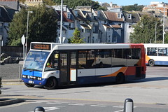 SSE 47481 @ Hastings railway station (ianjpoole) Tags: stagecoach south east optare solo m880 px07hbc 47481 working route 26 hastings railway station conquest hospital st helensa