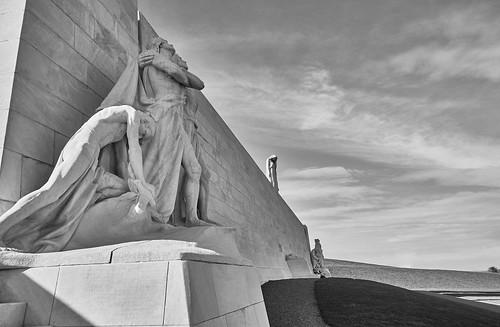 Vimy, le mémorial aux soldats canadiens