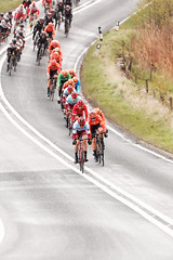 SWINGING DOWN (skysthelimit333) Tags: yorkshire cycle wheels tourdeyorkshire bike bikerace cyclist