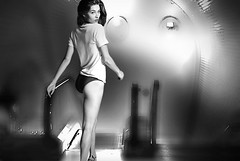 (horlo) Tags: graceelizabeth bw blackandwhite vintage noiretblanc nb wallpaper fonddécran glamour monochrome woman femme portrait collage