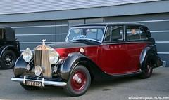 Rolls Royce Silver Wraith 1947 (Wouter Bregman) Tags: hyy129 rolls royce silver wraith 1947 rollsroyce rr silverwraith automédon 2019 le bourget lebourget îledefrance 93 france frankrijk carshow meeting vintage old classic british car auto automobile voiture ancienne anglaise uk brits vehicle outdoor