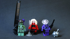 Intergalactic ladies (∅Sepulchure) Tags: lego sw star wars fig barf bigbarf pole widowmaker bounty hunter dancer sniper