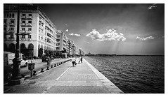 Home In Thessaloniki (Alfred Grupstra) Tags: blackandwhite history people architecture old urbanscene famousplace oldfashioned cultures monochrome travel cityscape city retrostyled outdoors tourism traveldestinations nauticalvessel street obsolete