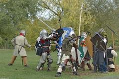 L'Assaut (Phil du Valois) Tags: assaut attaque ost combat médieval moyenâge armée armure épée bouclier écu
