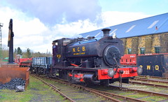 Bowes 02/04/17 (Matt Ditch Photography) Tags: bowes railway andrew barclay 040st 040 saddle tank number 6 area b group 85 works 2274 steamlocomotive train locomotive