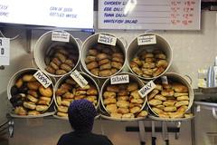bagel me (Ir. Drager) Tags: brooklyn usa newyorkcity ny nyc dekalbmarkethall foodhall fb newyork