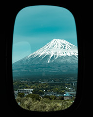 Japan (SergioQ79 - Osanpo Photographer -) Tags: japan fuji yama shinkansen window mountain nikon d7200 asia happyplanet asiafavorites