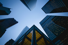 High-Rise (s.W.s.) Tags: cityscape skyscraper city building architecture financialdistrict toronto ontario canada architectural urban lookup neutraldensity longexposure nikon lightroom