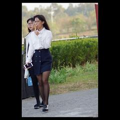 _DSC6968 (leeyu_flickr) Tags: 隨拍 美女 正妹 beauty lady girl woman 美腿 legs