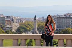 Lisbon 2019 - Lisa at Parque Eduardo VII, Sao Sebastiao da Pedreira (Gareth Wonfor (TempusVolat)) Tags: garethwonfor tempusvolat mrmorodo gareth wonfor tempus volat lisbon lisboa portugal holiday lisa wife mywife smile beautifulwife happy happywife brunette beautiful 2019