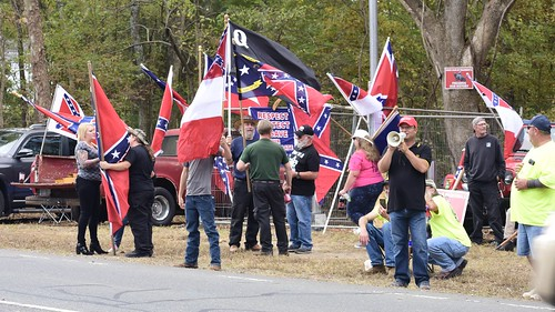 Fred Perry - Proud Boy with Confederates in Pittsboro (2019 Oct)