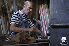The Blacksmith (Lotus Mi) Tags: morocco travel trip journey sony α7ⅱ fez street medina blacksmith people man worker fe55mm