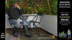 En bottes Dunlop Purofort (pascal en bottes) Tags: dunlop purofort dunloppurofort pascal pascalbourcier pascallebotteux diapered diapers stivalidigomma betterdry boots botas bottédecaoutchouc bottes bottescaoutchoucfreefr botteux httpbottescaoutchoucfreefr maisonbottescaoutchouc muséebottescaoutchouc rubberboots wellingtonboots cap casquette galochas gumboots gummistiefel botasdehule laarzen leméesurseine rainboots rubberlaarzen stiefel stivali stövler wellies bottescaoutchouc caoutchouc cizme cižmy ciszme