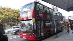P1180290 BDE2649 LJ19 CVZ at Angel Station Upper Street Islington London (LJ61 GXN (was LK60 HPJ)) Tags: metroline electric byd k8sr enviro400evcity enviro400ev enviro400city e400ev 109m 10900mm bde2649 lj19cvz j42824