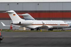 14+05 Bombardier BD700 Global 6000 9859 CYYZ (CanAmJetz) Tags: 1405 bombardier global express 6000 9859 cyyz yyz luftwaffe bizjet aircraft airplane nikon