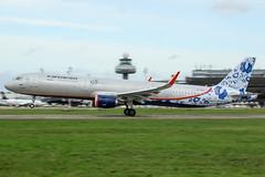 VP-BEE (PlanePixNase) Tags: aircraft airport planespotting haj eddv hannover langenhagen airbus a321 aeroflot vpbee 95years 321