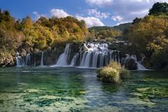 Skradinski Buk waterfall in autumn (Sizun Eye) Tags: krka naturereserve waterfall river tuffs croatia sibenik sizuneye sonyfe1635mmf28gm sony7rm2 skradinskibuk