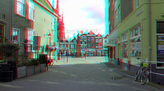 Delft 3D (wim hoppenbrouwers) Tags: delft 3d anaglyph stereo redcyan