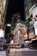 Time Square - New York - (shoot it!) Tags: newyork timesquare october 2019 dark night nightimages longexposure m50 canon canonm50