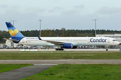 D-ABOB (PlanePixNase) Tags: aircraft airport planespotting haj eddv hannover langenhagen condor 757 757300 boeing b753 753