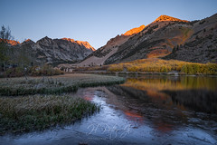 North Lake was that popular (ScorpioOnSUP) Tags: bishop california easternsierra northlake sierranevada sonya7iii sonyalpha adventure aspens autumncolors fallcolors fallfoliage ice lake landscape landscapephotography longexposure mountains nature outdoors reflections seekingsolitude solitude tranquility