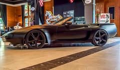 Chevrolet Corvette ZR1(C4) Cabrio. 1990 (Miguel Ángel Prieto Ciudad) Tags: car sports transportation vintage design show motor vehicle automotive automobile chevrolet black indoor chanoe sonyalpha alpha3000 mirrorless emount corvette zr1 amateur