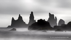 Iceland (My Planet Experience) Tags: reynisdrangar víkímýrdal vík rocks sea column troll seascape landscape blackandwhite nature island iceland is myplanetexperience wwwmyplanetexperiencecom exposure long