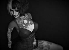 All things pass into the Night (Miru in SL) Tags: second life sl bw black white photo tattoo suicide girls ebento event hocus pocus hocuspocus vegas miragena mna mesh clothing maitreya fashion ink barberyumyum hair foxcity poses