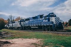 GLC at Clare, MI (dangaken) Tags: railfanning railroading tuscolaandsaginawbayrailroad tsby railway aarr annarborrailroad michiganinterstaterailroad autumn fall clare rr centralmichigan claremi michigan regionalrailroad shortline shortlinerailroad railroad rail glc greatlakescentral emd glc397 glc395 glc395' glc392