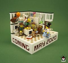 Baby announcement main (Barthezz Brick) Tags: lego baby pregnancy moc afol legos legocreator vignet legoart barthezz barthezzbrick brick minifig minifigures