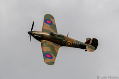 Hurricane I P2902 G-ROBT - Anglia Aircraft Restorations Ltd (stu norris) Tags: hurricanei p2902 grobt angliaaircraftrestorationsltd hawker hurricane hawkerhurricane ww2 raf airshow aviation fighter historic classic vintage thevictoryshow2019 cosby thevictoryshow