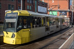 Metrolink 3054 (Mike McNiven) Tags: keliosamey kelios amey metrolink manchestermetrolink manchester shudehill piccadilly victoria bury flexityswift bombardier m5000 metro lightrail lrv