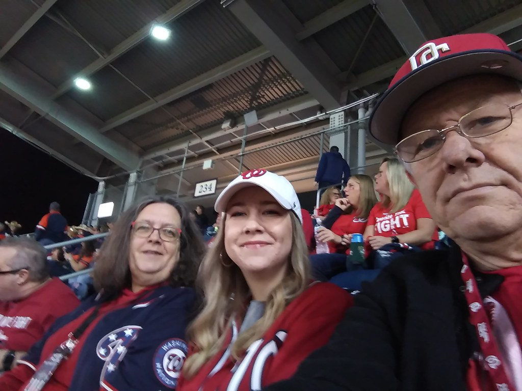 фото: Before World Series game 4, 10/26/2019