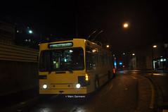 Trolleybus NAW BT-25 n°775 en service sur la ligne 9. (Marc Germann) Tags: trolleybus naw bt25 tl lausanne ligne9 retrobus vanhool newa330 mercedescitarobenz transportspublics remorques historique historic fbw bus par brise convois