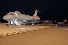 Air Combat Power Visit RAF Waddington. (plain spotter) Tags: bombardier military raf rafwaddigtonnightshoot sentinelr1 zj691