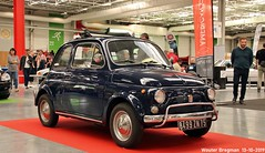 Fiat 500 1973 (Wouter Bregman) Tags: 8499zn75 fiat 500 1973 fiat500 automédon 2019 le bourget lebourget îledefrance 93 france frankrijk carshow meeting vintage old classic italian car auto automobile voiture ancienne italienne italie italia italy vehicle indoor