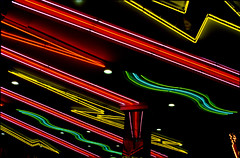 Marquee Lines (flexible fotography) Tags: color sign electric neon electricity neonsign electrification neonart energy shapes linesandsquiggles neonshapes